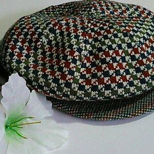 Kango Tweed Jacquard Apple cap / hat